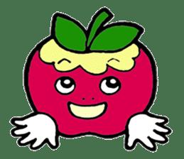 Mr.apple Ms.apple sticker #2119513