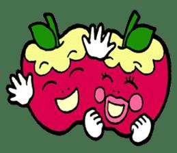 Mr.apple Ms.apple sticker #2119515