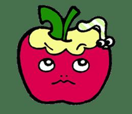 Mr.apple Ms.apple sticker #2119517