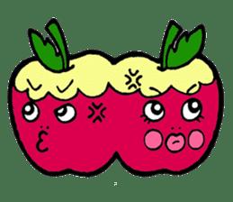 Mr.apple Ms.apple sticker #2119521