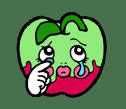 Mr.apple Ms.apple sticker #2119524