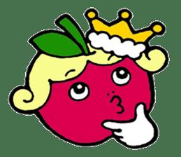 Mr.apple Ms.apple sticker #2119527