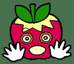 Mr.apple Ms.apple sticker #2119530