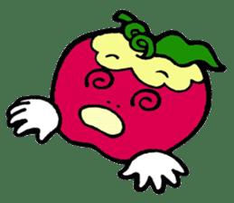 Mr.apple Ms.apple sticker #2119535