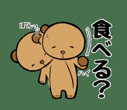 It is the sticker of the teddy bear sticker #2119901