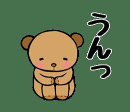 It is the sticker of the teddy bear sticker #2119920