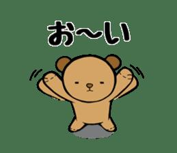 It is the sticker of the teddy bear sticker #2119933
