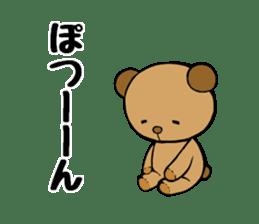 It is the sticker of the teddy bear sticker #2119934