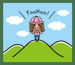Takahiro Obata Music Office Vo)Aya Ito sticker #2120816