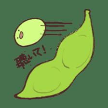 Kawaii EDAMAME sticker #2122183