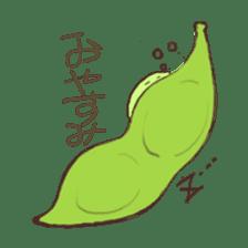 Kawaii EDAMAME sticker #2122184