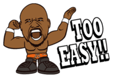 DRAGON GATE PRO-WRESTLING SD Characters sticker #2124689