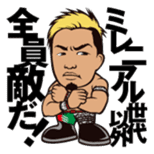 DRAGON GATE PRO-WRESTLING SD Characters sticker #2124691