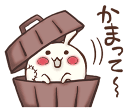 Urameshirabbit-Japanese sticker #2125383