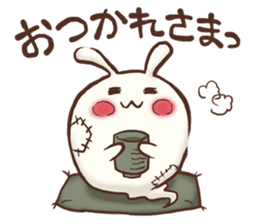 Urameshirabbit-Japanese sticker #2125384