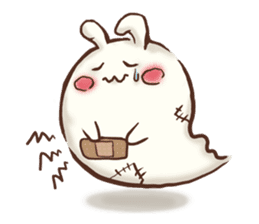 Urameshirabbit-Japanese sticker #2125395