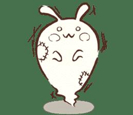 Urameshirabbit-Japanese sticker #2125400
