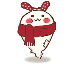 Urameshirabbit-Japanese sticker #2125419