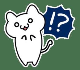 Moody cat sticker #2126111