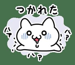 Moody cat sticker #2126120