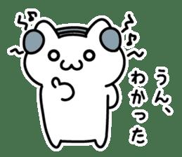 Moody cat sticker #2126133