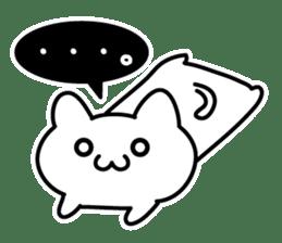 Moody cat sticker #2126138