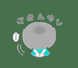 Sensyuu girl sticker #2126433