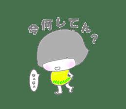 Sensyuu girl sticker #2126450