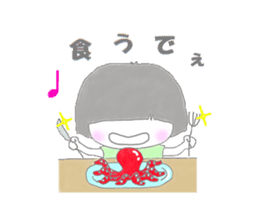 Sensyuu girl sticker #2126455