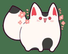 Marshmallow fox sticker #2126581