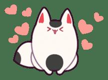 Marshmallow fox sticker #2126583