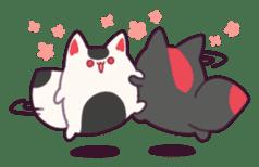 Marshmallow fox sticker #2126595