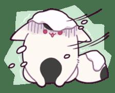 Marshmallow fox sticker #2126598