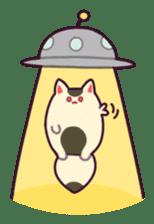 Marshmallow fox sticker #2126604