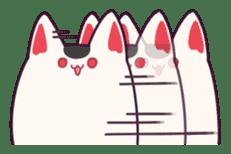 Marshmallow fox sticker #2126606