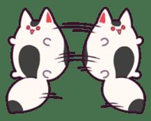Marshmallow fox sticker #2126607