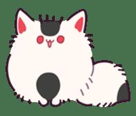 Marshmallow fox sticker #2126610