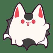 Marshmallow fox sticker #2126616
