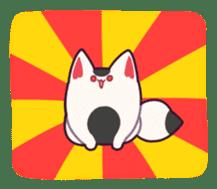 Marshmallow fox sticker #2126620