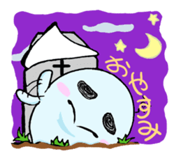 A mischievous ghost sticker #2127309