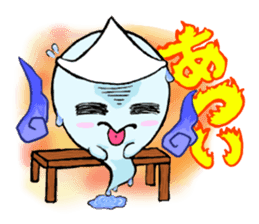 A mischievous ghost sticker #2127338