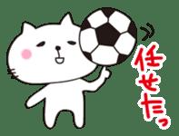 Crazy Soccer CAT sticker #2127827