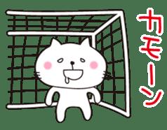 Crazy Soccer CAT sticker #2127829