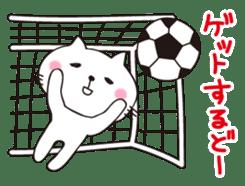Crazy Soccer CAT sticker #2127830