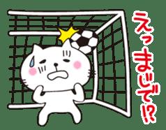 Crazy Soccer CAT sticker #2127832