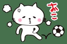 Crazy Soccer CAT sticker #2127834