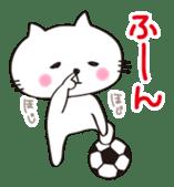 Crazy Soccer CAT sticker #2127835
