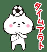 Crazy Soccer CAT sticker #2127840