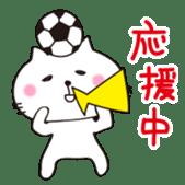 Crazy Soccer CAT sticker #2127845
