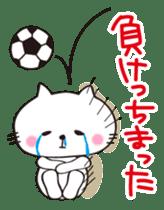Crazy Soccer CAT sticker #2127856